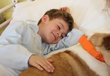 canisterapie přináši dětem radost