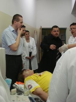 vyšetřování pacienta