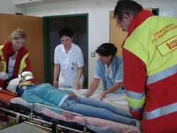 vyšetření pacientky