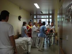přívoz pacienta