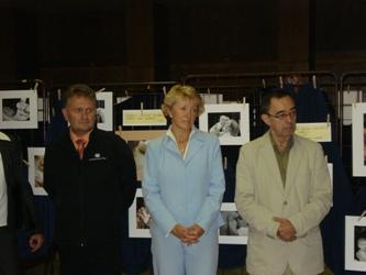Akci zahájili ..Prim.MUDr.Miláček, Ing.J.Fischerová, prim.MUDr.Antonín