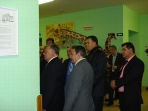 delegace na dìtském oddìlení NHB