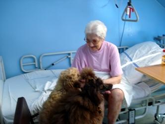 neskrývaná radost pacientů...