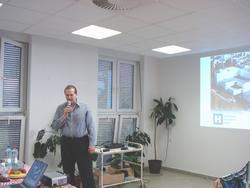 Prezentace øeditele nemocnice MUDr.V. Kaòkovského