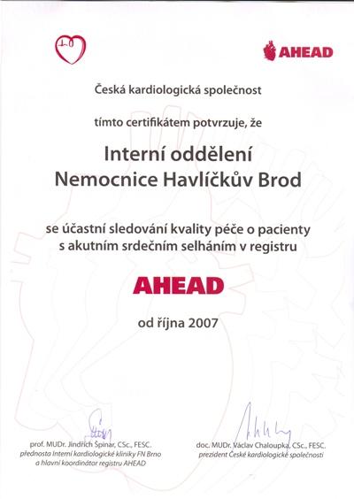 certifikat kardio