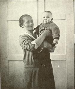 žena s dítìtem