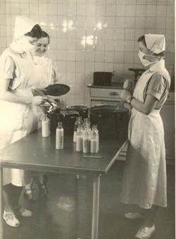 pøíprava mléka pro dìti