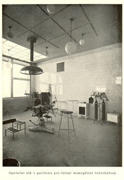 operacni síò v pavilonu pro léèení mimoplicní tuberkulosy