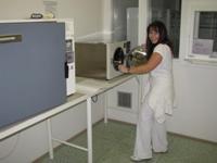 Přípravna sterilních LP - materiálová propusť