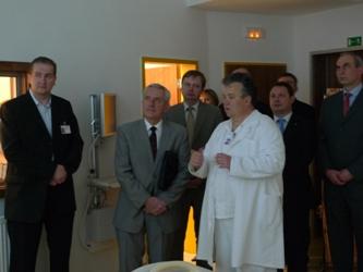 návštěva ministra Hegera