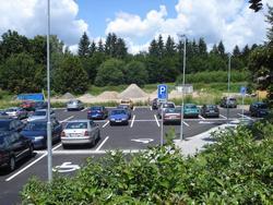 hlavní parkoviště NHB